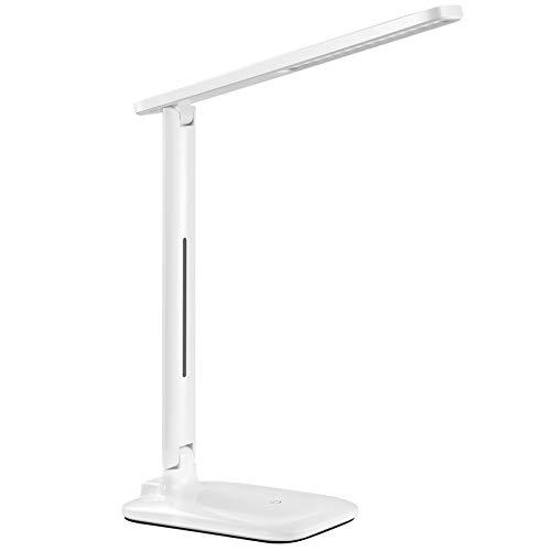 Lampada Scrivania 42 LED, Lampada da Tavolo con Efficienza Energetica Occhi-Cura, Regolabile 3...