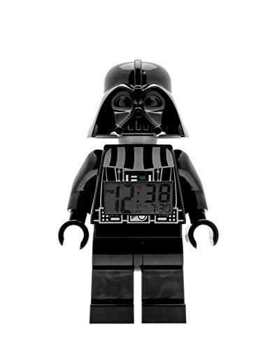 Lego Sveglia retroilluminata 9002113 Star Wars per bambini minifigure Darth Vader | nero/grigio |...