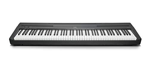 Yamaha Digital Piano P-45B Pianoforte Digitale dal Suono Acustico Autentico, Design Compatto, Leggero ed...