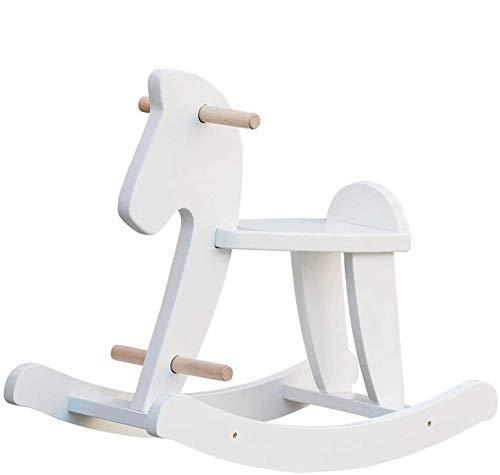 Cavallo a Dondolo bianco di Labebe