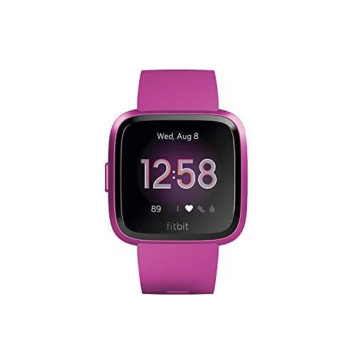 Fitbit Versa Lite, Smartwatch per Benessere e Forma Fisica, Gelso