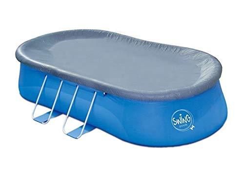 Telone di copertura per piscina Quick-Up ovale, 4,57 x 2,74 m