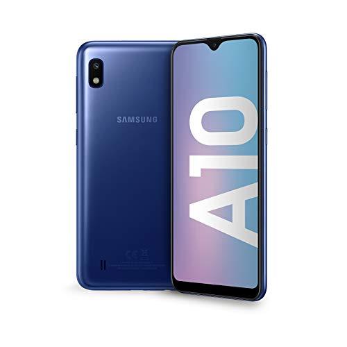 Samsung Galaxy A10 Display 6.2', 32 GB Espandibili, RAM 2 GB, Batteria 3400 mAh, 4G, Dual SIM Smartphone,...