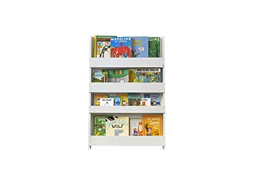 Tidy Books® Libreria Montessoriana per Bambini (età 0-10), Biblioteca, Libreria a Muro, Mobile...