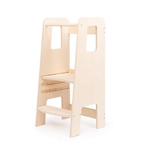 ully by moblì® | la prima Learning Tower in legno naturale | Realizzata in Italia secondo i principi...