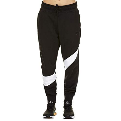 Nike Hbr Pant Ft Stmt, Pantaloni Uomo, Nero White Black 010, 44 (Taglia Produttore: Medium)