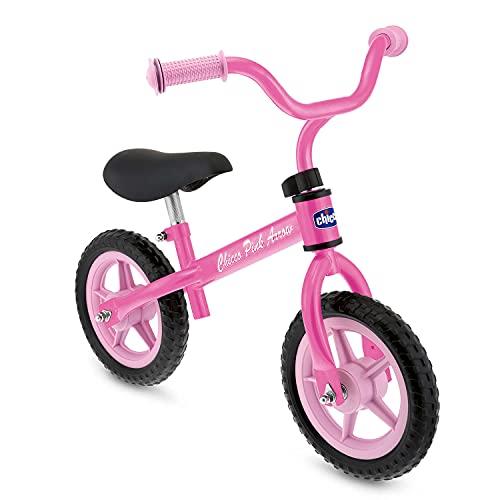 Chicco Pink Arrow Bicicletta Bambini Senza Pedali 2-5 Anni, Bici Senza Pedali Balance Bike per...