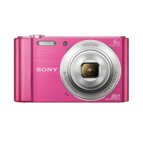 Sony DSC-W810 Fotocamera Digitale Compatta con Sensore Super HAD CCD da 20.1 MP, Zoom Ottico 6x, Video...