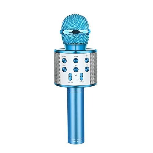 Letsgocoo Regalo Bambina 4 5 6 7 8 9 10 11 12 Anni, Bluetooth Microfono Karaoke per Bambini Giocattoli...