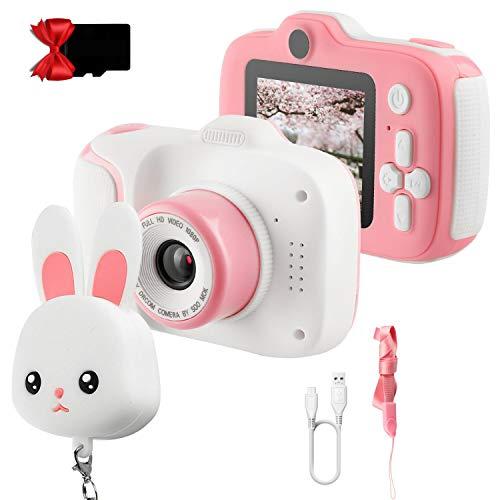 FotocameraBambini ETPARK, Fotocamera Digitale per Bambini Schermo HD da 2 pollici 1080P Scheda SD da 32...