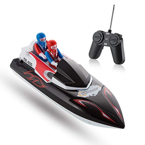 Top Race Remote Control Boat per Principianti, My First Little RC Boat for Kids. TR-600