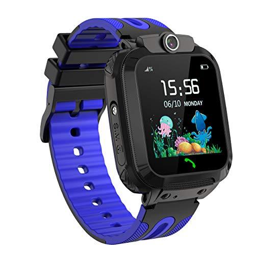 LDB Smartwatch Bambini, Impermeabile GPRS/LBS Tracker Chat Vocale Telecamera Remota SOS Chiamata...