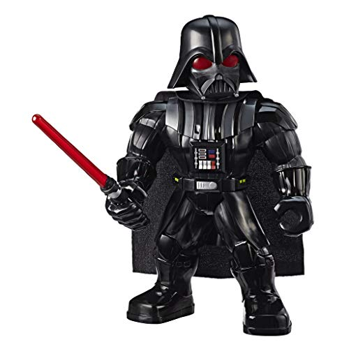 Star Wars Galactic Heroes Mega Mighties Darth Vader - Action Figure da 25,5 cm con accessorio spada laser