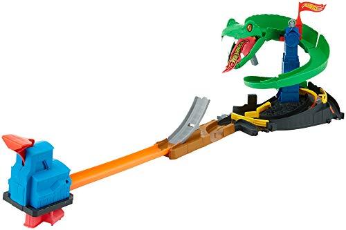 Hot Wheels Attacco al Cobra Playset per Stimolare Immaginazione e Creatività dei Bambini di 4 + Anni,...