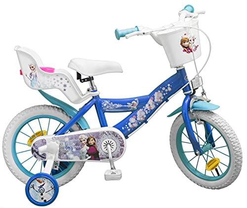 TOIMS Frozen - Bicicletta per Bambino, 14'