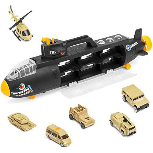 deAO Sottomarino Militare Squalo Transportatore Custodia Portatile per Le Auto Sottomarino delle Forze...