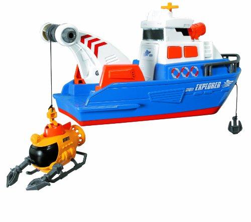 Simba- Barca Explorer con Mini Sottomarino, Colore, 20 330 8361 AMU