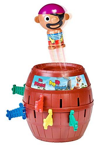 Tomy - Pop Up Pirate Bambini Gioco Di Abilità Fino-Motorie, T7028A1