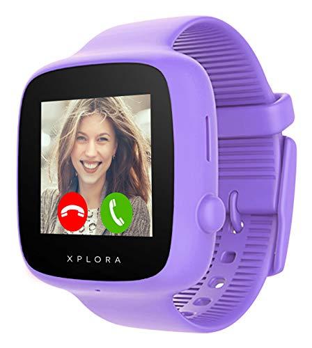 XPLORA GO – Orologio mobile per bambini (senza SIM) - Chiamate, messaggi, modalità scuola, funzione...