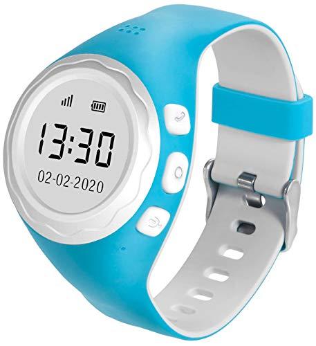 Pingonaut Kidswatch 2020 Edition - Orologio per Bambini con App Tracker GPS, Funzione Telefono, Sviluppo...
