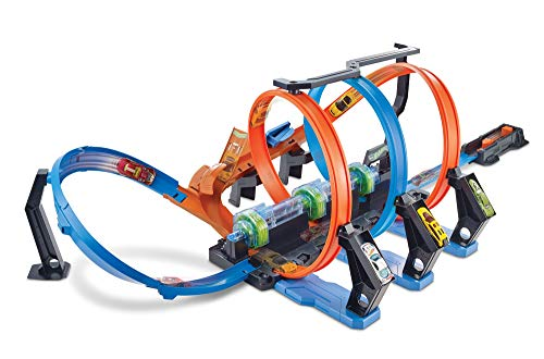 Hot Wheels- Pista Schianti Rotanti per Macchinine, Giocattolo per Bambini 4+ Anni, Multicolore, FTB65, 5...