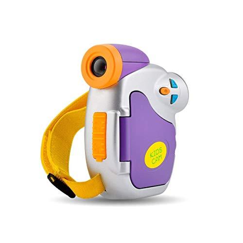 Videocamera Digitale, CamKing Fotocamera Digitale Portatile per Bambini 1080P Full HD 5 MP 4X 1,5 Pollici...
