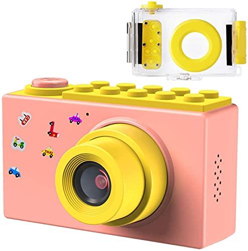 Samoleus Macchina Fotografica per Bambini, Fotocamera Digitale Subacquea Impermeabile, Digital Camera...