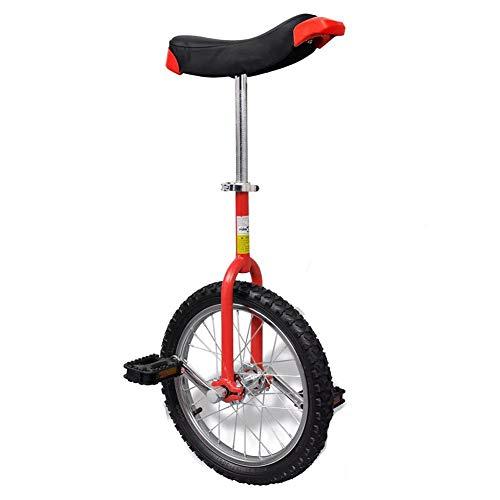 Dioche - Monociclo regolabile da 16 pollici, Unicycle con sgancio rapido, per bambini e principianti, con...