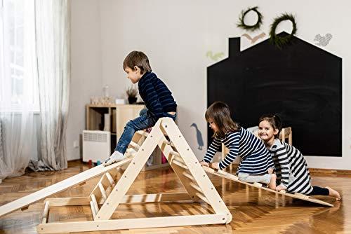 Triangolo pikler, triangolo a gradini, scala rampicante per bambino, triangolo per bambini, Puoi...