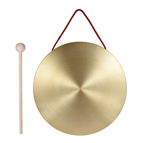 ammoon 22 Centimetri Hand Gong Clementi in Ottone Copper Chapel Opera Strumenti a Percussione con il...