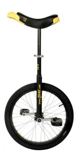 QU-AX, Monociclo Luxus 20 Unisex Adulto, Nero