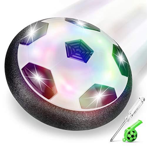 lenbest Hover Ball Calcio, Pallone da Calcio da Interno Fluttuante con Luci a LED, Hover Calcio Soccer...