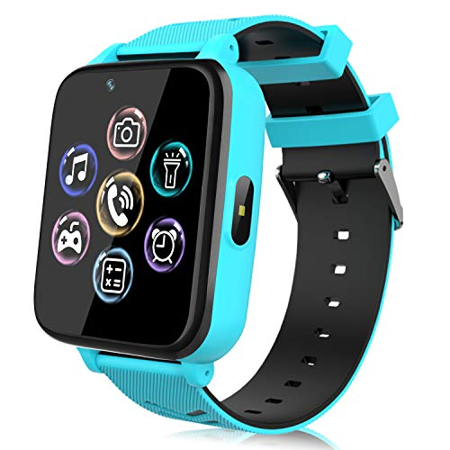 Smartwatch per Bambini, Orologio Telefono per Ragazzo e Ragazza Touchscreen con Fotocamera, Lettore...