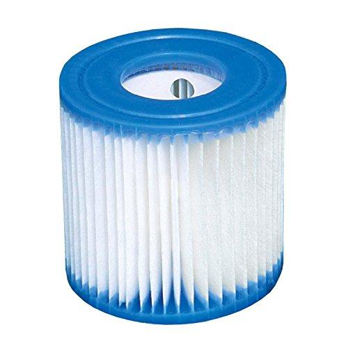 Intex 29007 - 6 cartucce filtranti per filtro piscine Quick Up
