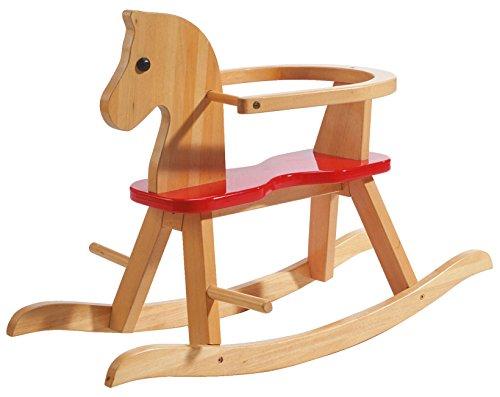 Cavallo a Dondolo in legno massiccio di Roba