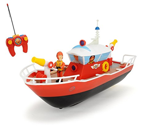 Dickie - Modellino Barca dei Pompieri Sam RC, Scala: 1:16