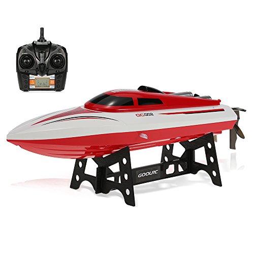 GoolRC RC Barca GC002 2.4G Controllo Remoto 180 ° Flip 20 km/H Alta velocità Elettrico RC Racing Boat