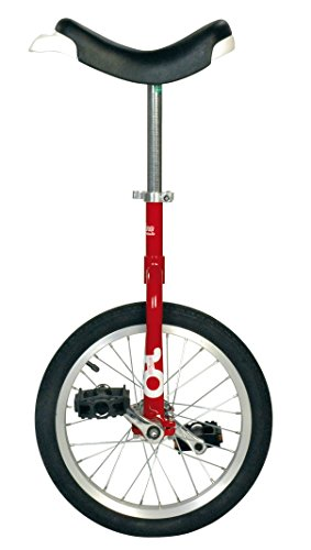 Sport-Thieme Onlyone® Monociclo Outdoor (16', 28 Speichen, Rot)