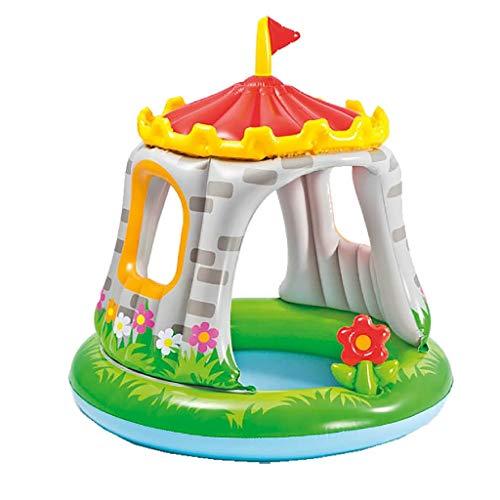 Intex 57122 Royal Baby Castello- Piscina per Bambini 1-3 anni, Multicolore, 122 x 122 cm