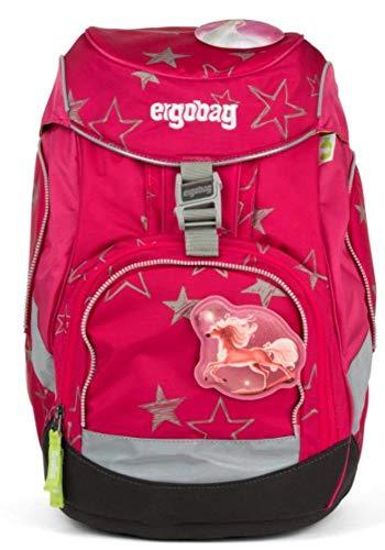 ERGOBAG CinBärella Zainetto per bambini, 35 cm, Viola (Pinke Sterne)