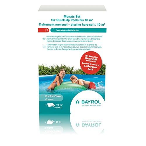 Bayrol Set di piscine Quick Up per piscine fino a 10 m³ di cura della piscina