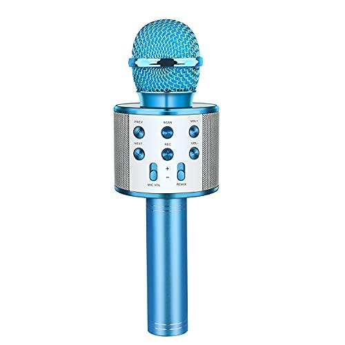 LetsGO toyz Regalo Bambina 4 5 6 7 8 9 10 11 12 Anni, Bluetooth Microfono Karaoke per Bambini Giocattoli...