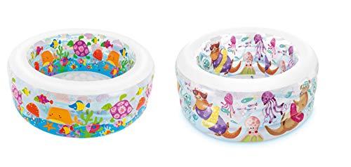 Intex Acquario Piscina Baby Aquarium, Multicolore, 152 x 56 cm, 58480