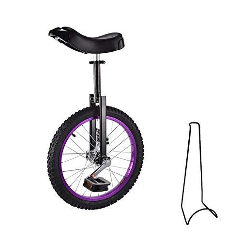 Monociclo, 16 pollici, 18 pollici, monociclo per bambini, regolabile in altezza, con supporto per...