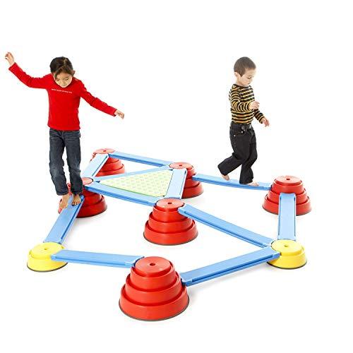 Gonge Build NBalance® Piattaforma di equilibrio per bambini Gioco educativo divertente equilibrio