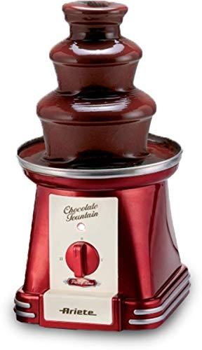 Ariete 2962.0 Fontana di Cioccolato, Plastica, rosso