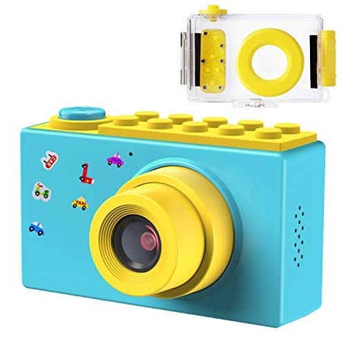 Samoleus Macchina Fotografica per Bambini, Mini Fotocamera Digitale Portatile, Digital Camera Kids...