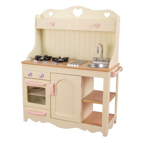 KidKraft 53151 Cucina giocattolo in legno per bambini Prairie-Bianco, Colore