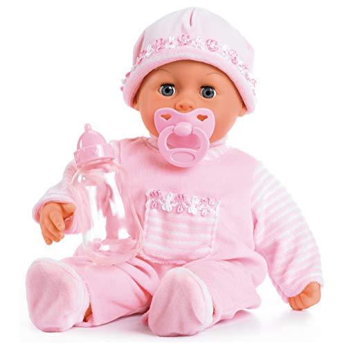 Bayer Design 93800-Pink - Bambola Bebè First Words Baby Interattiva