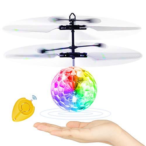 Blasland Palla Volante, Giocattoli per Bambini Mini Drone Elicottero Telecomandato Aereo RC con Luci LED...